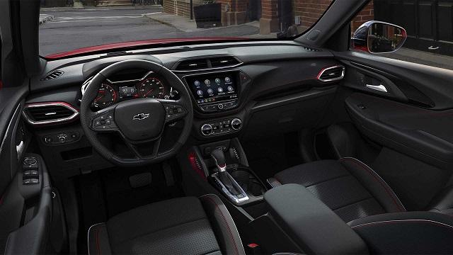 2020 Chevy Trailblazer interior