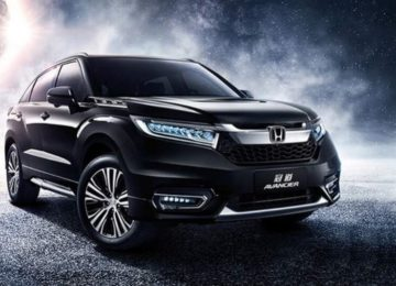 2020 Honda Avancier redesign