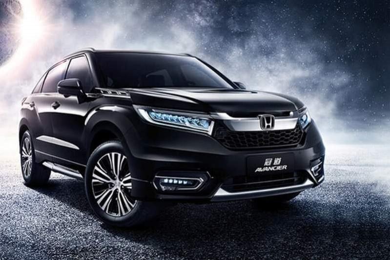 2020 Honda Avancier redesign