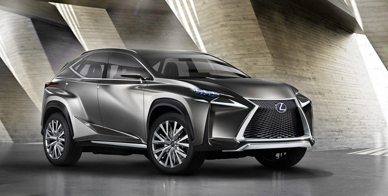 2020 lexus nx spindle grille
