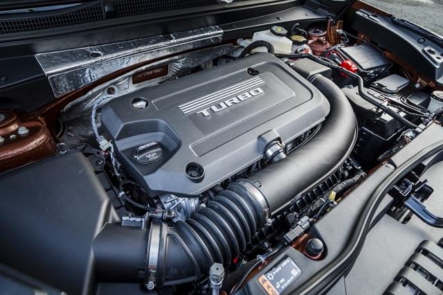 2020 Cadillac XT7 engine specs