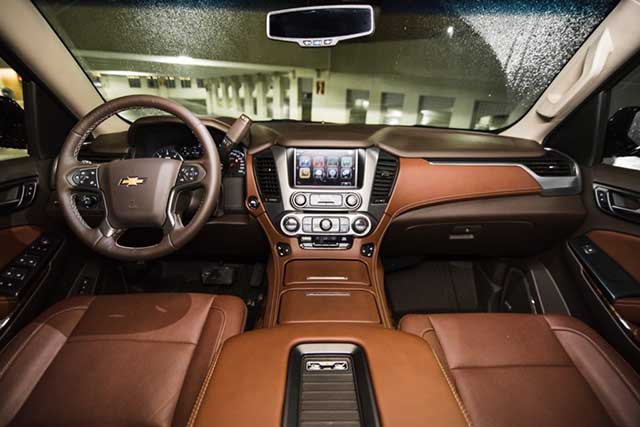 2020 Chevy Tahoe interior