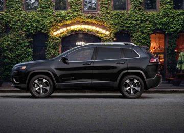 2020 Jeep Cherokee colors