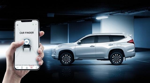 2020 Mitsubishi Montero Sport app