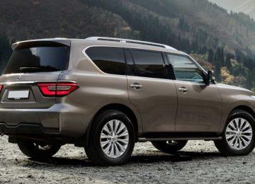 2020 Nissan Patrol facelift render