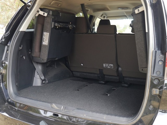 2020 Toyota Fortuner cargo space