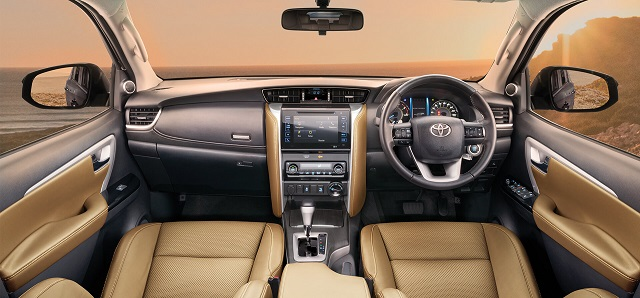 2020 Toyota Fortuner interior accessories