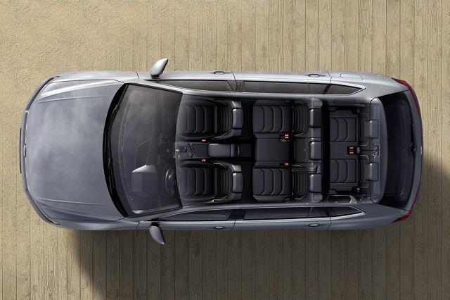 2020 VW Tiguan seven seat suv