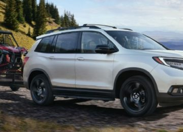 2020 Honda Passport mpg