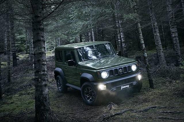 2020 Suzuki jimny redesign