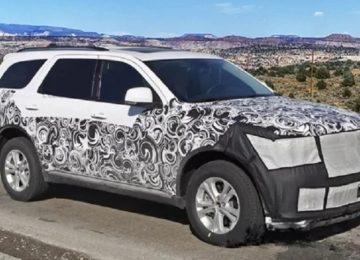 2021 Dodge Durango spy photos