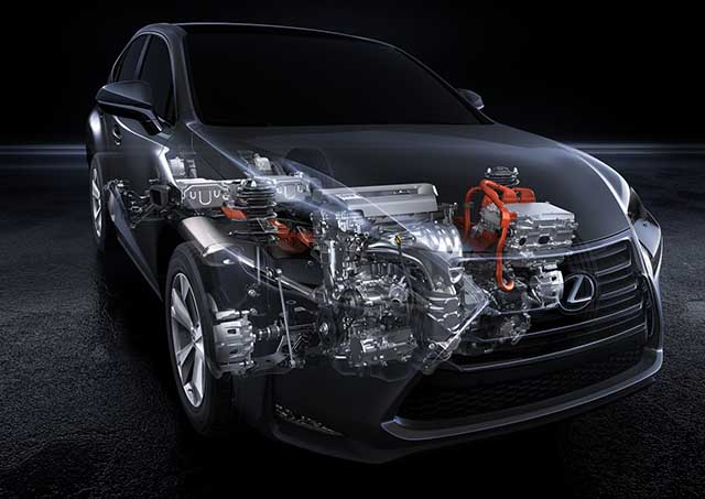 2021 Lexus NX 300h hybrid