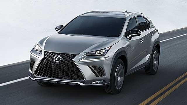 2021 Lexus NX f sport