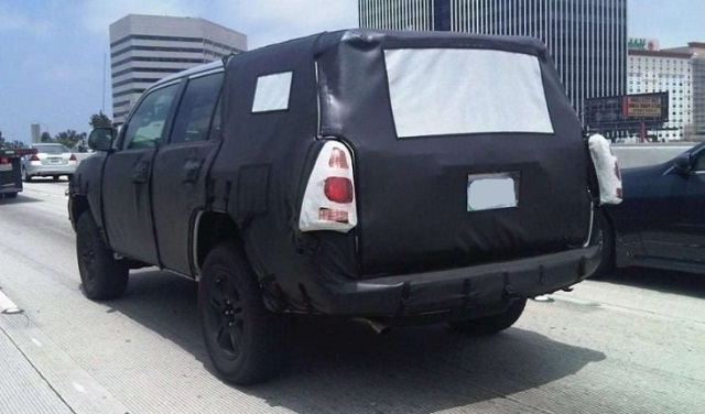 2021 Toyota 4Runner spied
