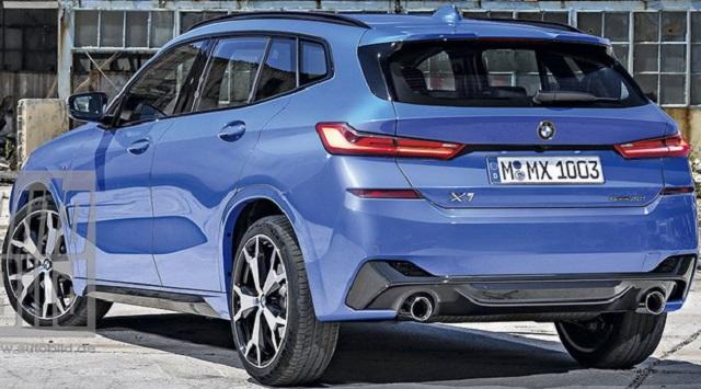 2021 BMW X1 concept