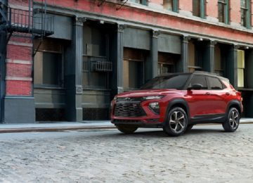 2021 Chevy Trailblazer comeback
