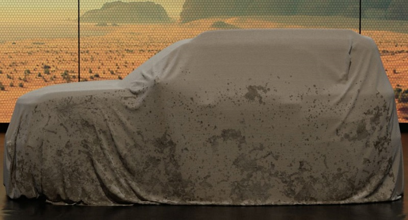 2021 Ford Bronco teaser
