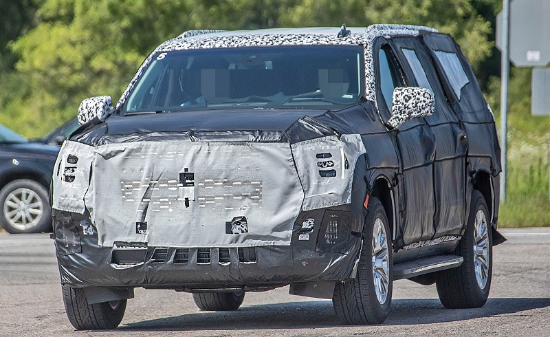 2021 GMC Yukon denali spy photo