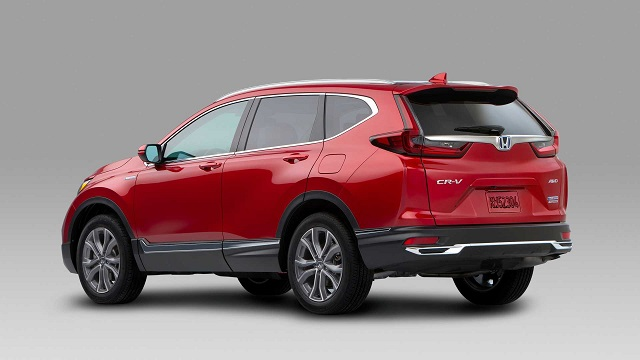 2021 Honda CR-V changes