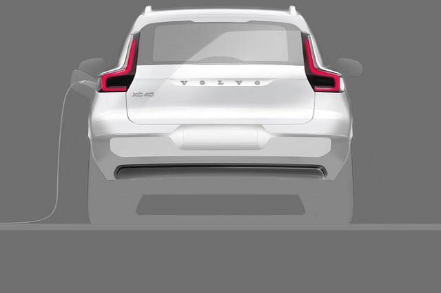 2021 Volvo XC40 EV range