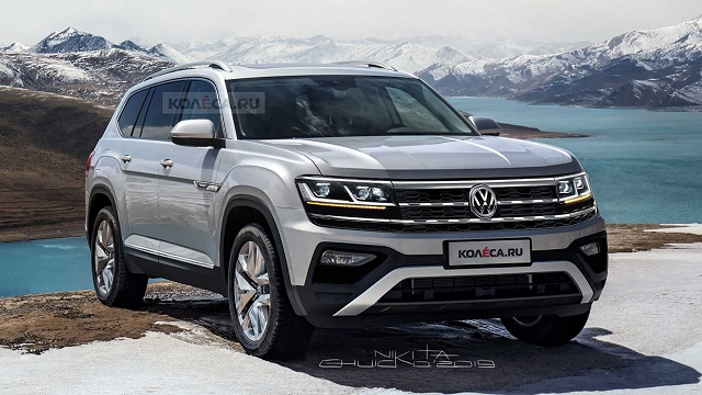 2021 VW Atlas concept