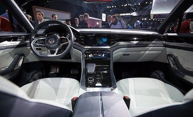 2021 VW Atlas interior
