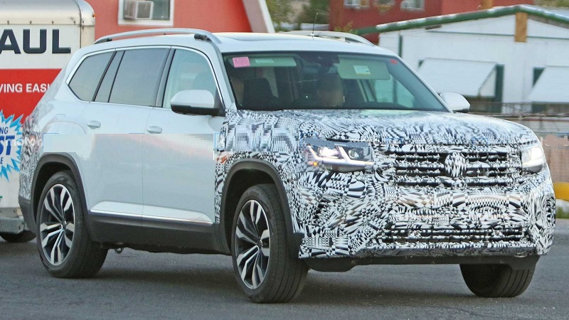 2021 Vw Atlas Facelift Sport Cross Model Release Date Us