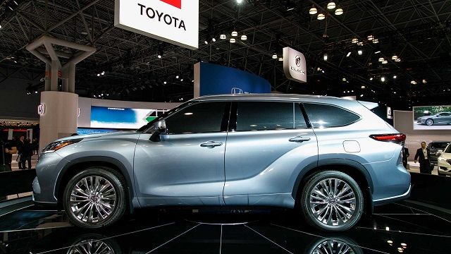 2021 Toyota Highlander redesign