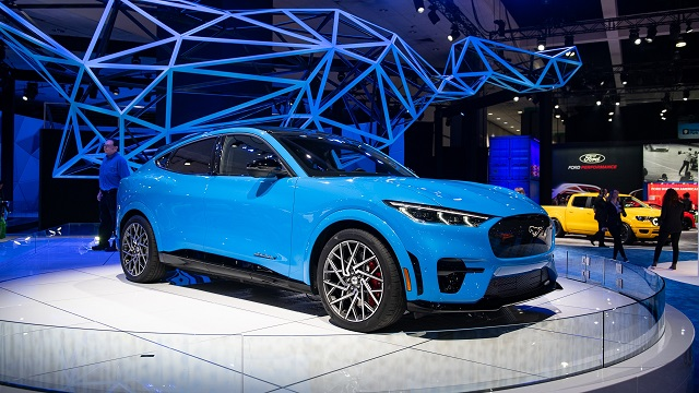 Ford Mach E debut