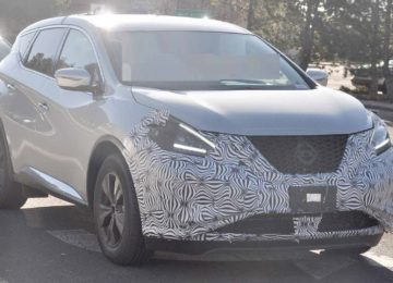 2021 Nissan Murano spy photos