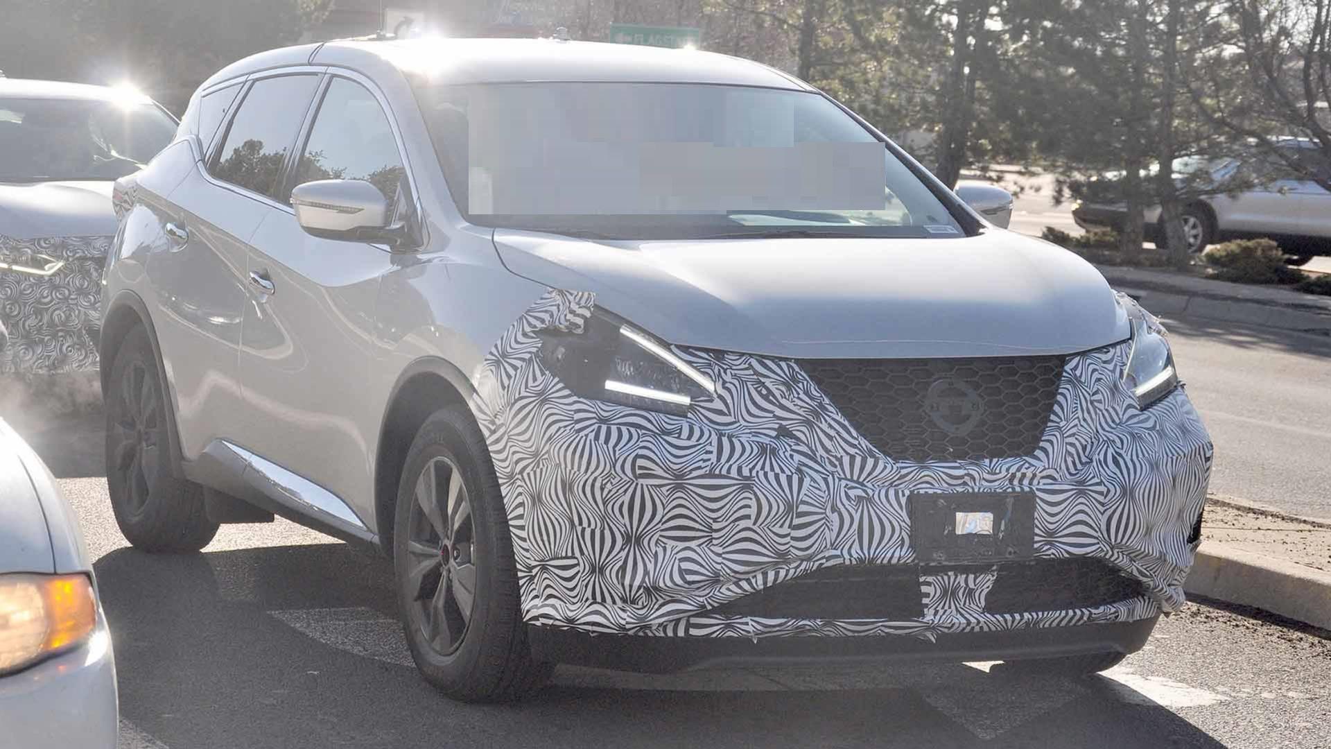 2021 Nissan Murano spy photos