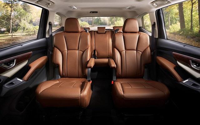 2021 Subaru Ascent 7-seat layout