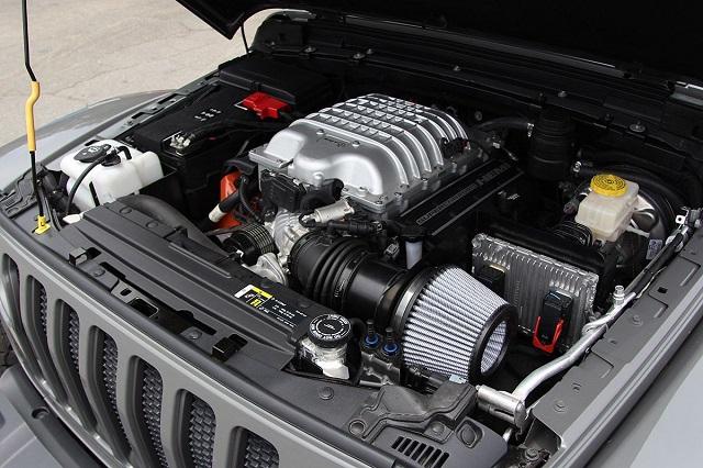 2021 Jeep Grand Wagoneer hellcat