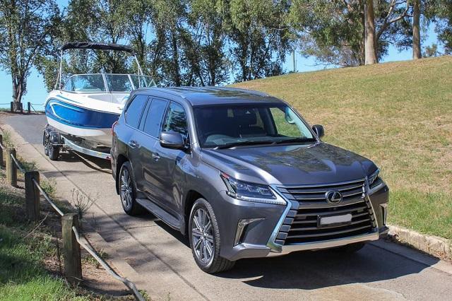 2021 Lexus LX 570 Towing Capacity