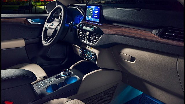 2021 ford escape titanium interior