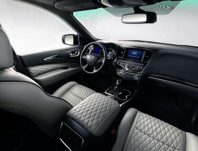 2021 Infiniti QX60 interior