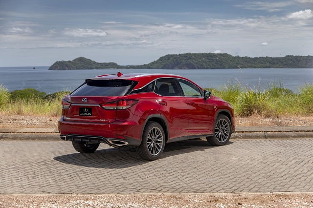 2021 Lexus RX350 changes