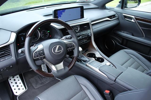 2021 Lexus RX350 interior