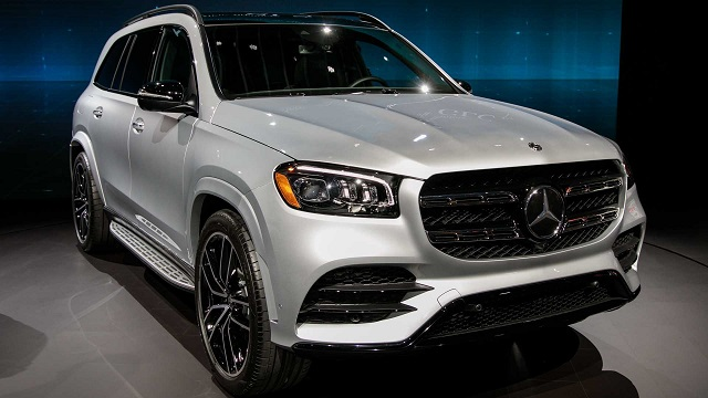 2021 Mercedes GLS changes
