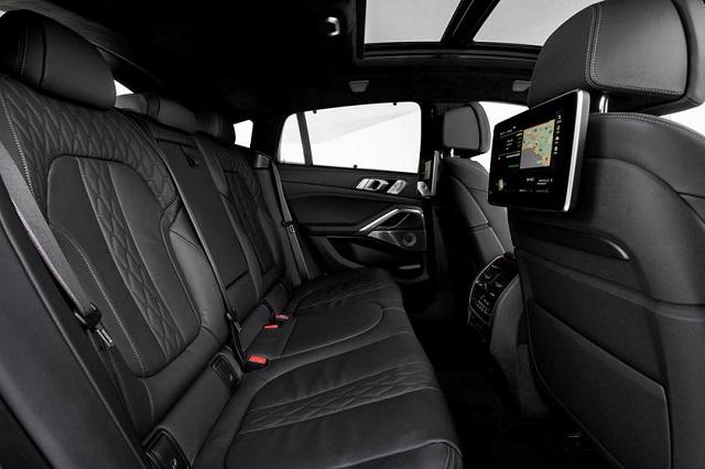 2021 BMW X6 interior