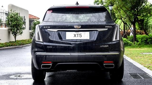 2021 Cadillac XT5 facelift