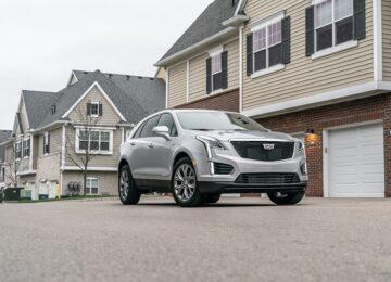 2021 Cadillac XT5 redesign