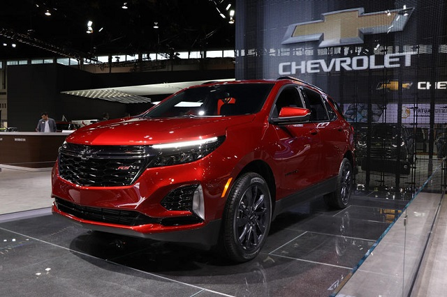 2021 Chevy Equinox debut