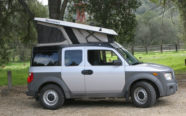 2021 Honda Element camper
