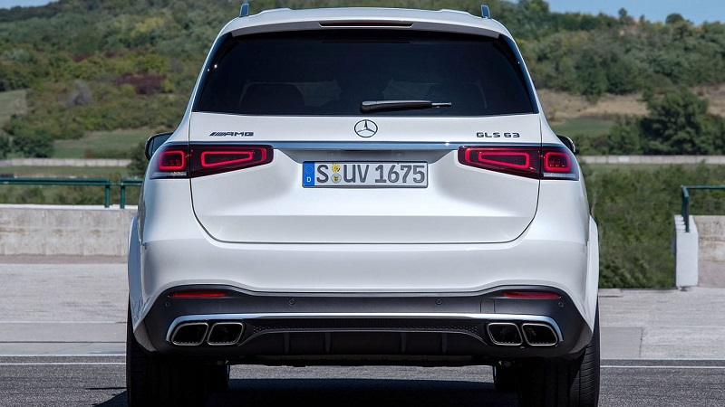 2021 Mercedes-AMG GLS 63 changes