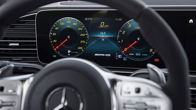 2021 Mercedes-AMG GLS 63 interior