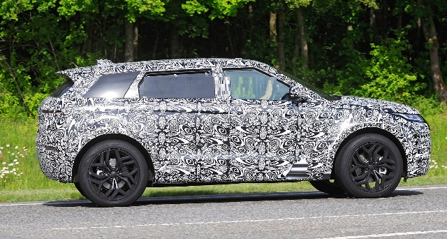 2021 Range Rover Evoque long wheelbase