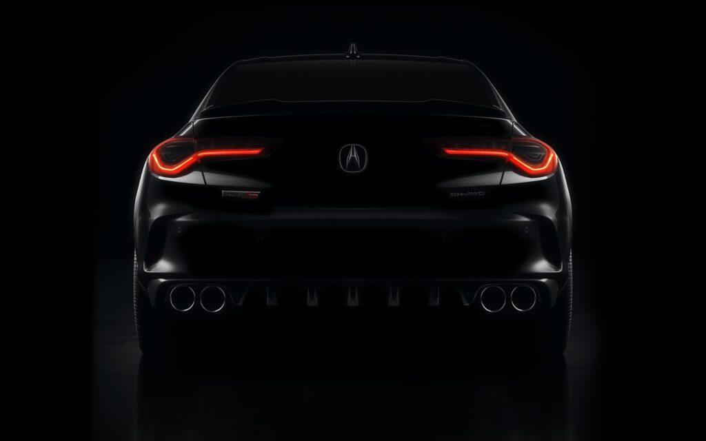 2021 Acura RDX Type S teaser