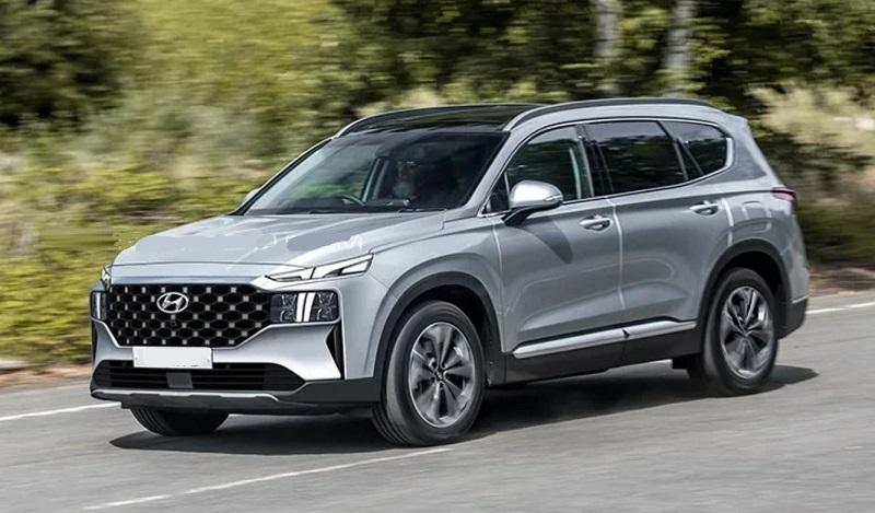 2021 Hyundai Santa Fe colors