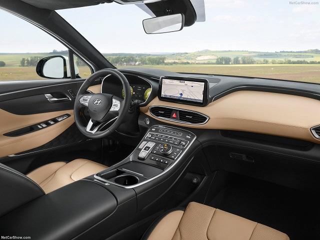2021 Hyundai Santa Fe interior